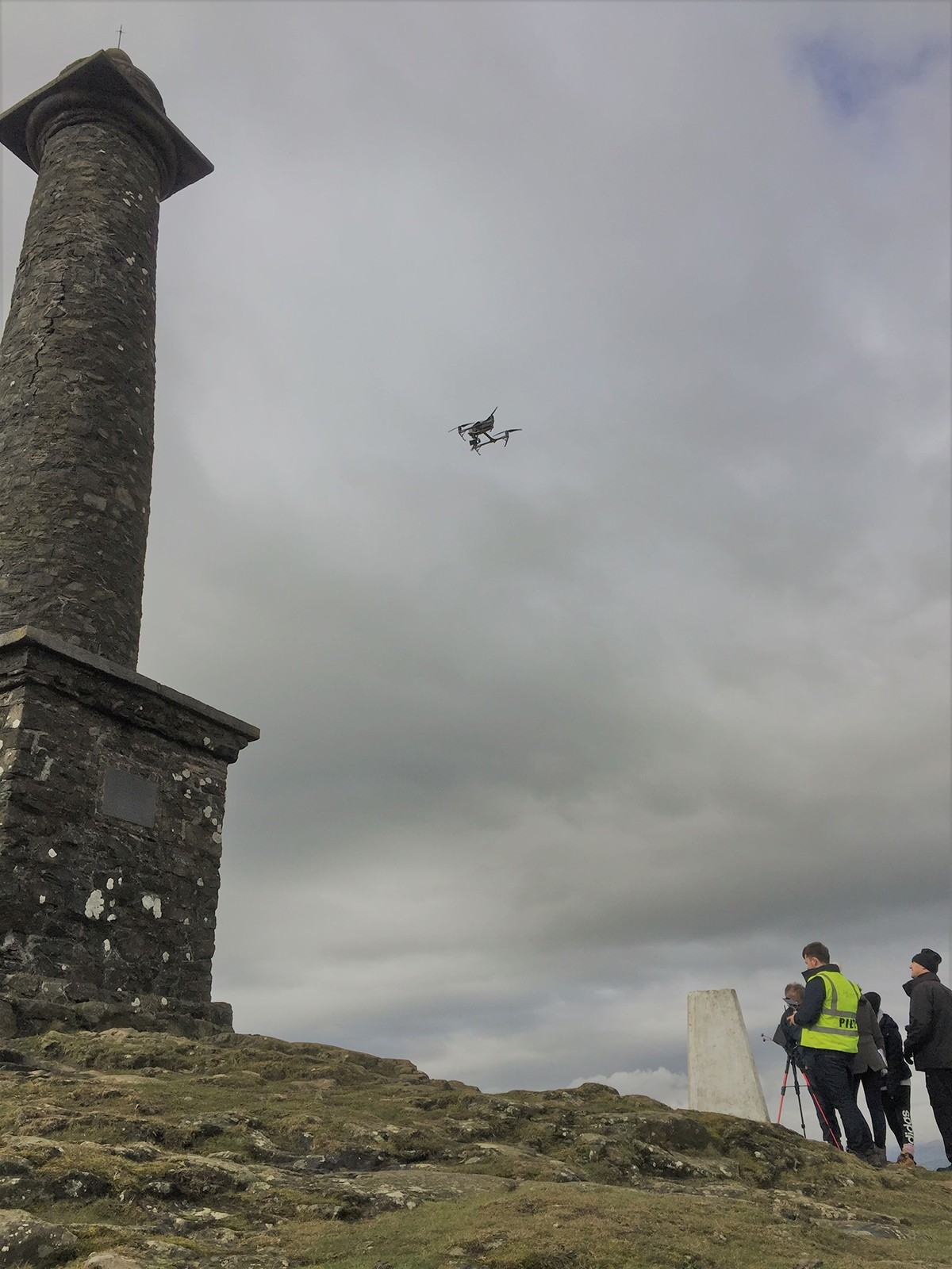 Drone Survey of Admiral Rodney's Pillar