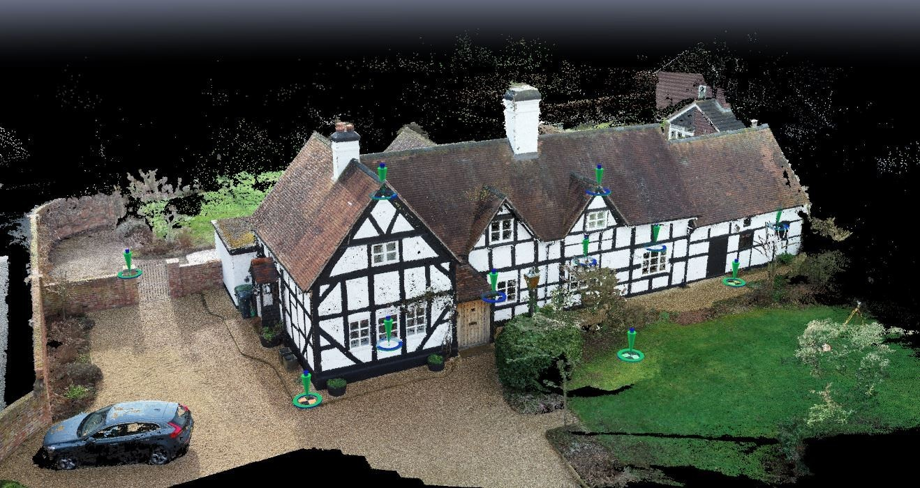 UAV Generated Point Cloud