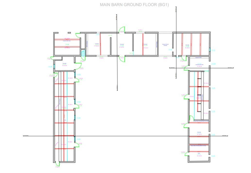 Floorplan drawing