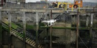 UAV inspections and surveys in Milford Haven